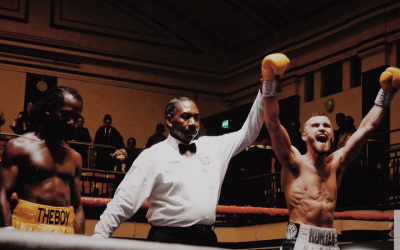 Alfie Price claims Southern Area lightweight title in his sixth contest Jeff Ofori