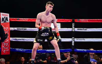 "Aaron 'The Silencer' McKenna: ""Outside the ring I don't say a lot. But inside, I silence opponents"""