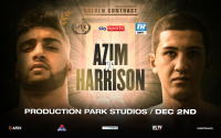 Adam Azim professional debut rescheduled for Golden Contract card