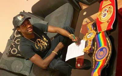 Representing Gloucester, Akeem Ennis Brown aims to win the European title mtk global british english commonwealth next fight date tv channel time venue when where to watch live stream boxrec