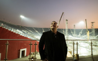 Andy Ruiz Jr visits custom-built Diriyah Arena and says he'll be doing everything possible to win