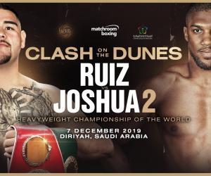 Andy Ruiz Jr vs Anthony Joshua 2 fight time, date, TV