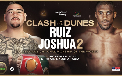 Andy Ruiz Jr vs Anthony Joshua 2 tickets on sale