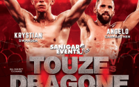Angelo Dragone vs Kristian Touze Welsh Area super-featherweight title