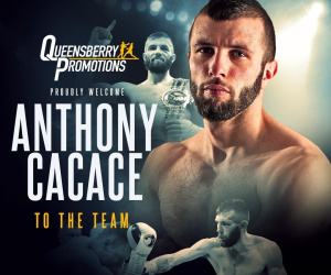 Frank Warren signs British super featherweight champion Anthony Cacace