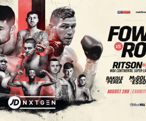 Anthony Fowler vs Brian Rose fight time, date, TV channel, undercard, schedule, venue, betting odds and live stream details