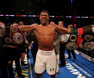 Who is Anthony Joshua next opponent going to be?