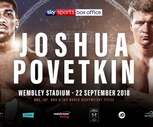 Anthony Joshua vs Alexander Povetkin