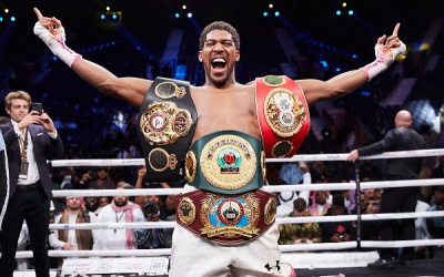 Anthony Joshua's earnings revealed fortune with £58 million wages in 12 months how much is aj worth