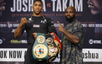 Anthony Joshua vs Carlos Takam press conference