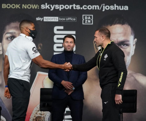 Anthony Joshua vs. Kubrat Pulev undercard press conference quotes who wins and why how tale of the tape ko points victory results report what time start kubrat pulev cobra aj sky sports channel number no.