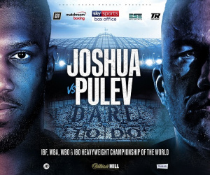 Possile locations for Anthony Joshua vs Kubrat Pulev being discussed