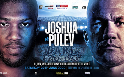 Anthony Joshua vs Kubrat Pulev still on for June 20 but could be moved to July, says Eddie Hearn