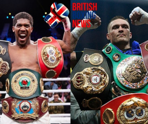 Anthony Joshua vs Oleksandr Usyk