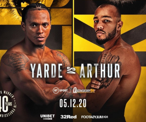 Predictions for Anthony Yarde vs Lyndon Arthur who wins and why how what time start anyone got a love stream link betting odds tale of the tape oddschecker best bets frank warren bt sport channel