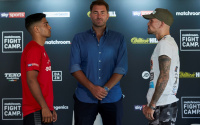 "Aqib Fiaz determined to make Kane Baker pay for ""acting the big man"" rematch beef talk why first fight canelled sick unwell"