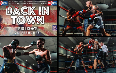 Cameron Kaihau vs Kevin McCauley Boxing Connected Doncaster Josh Padley Ryan Stevenson Back in Town Jordan Ellison