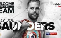 Billy Joe Saunders signs with Matchroom Boxing