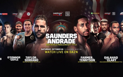 Billy Joe Saunders vs Demetrius Andrade cancelled