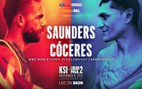 Who is Billy Joe Saunders' next opponent Marcelo Esteban Coceres?