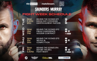 Matchroom Boxing announce Billy Joe Saunders vs Martin Murray fight week schedule sky sports tb build up bubble fighter arrivals behind the scenes interview dogging outdoor sex YouTube