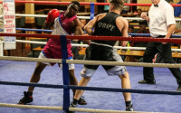 Amateur champion Bolu Kareem joins Boxing Connected stable pro career record what did he win highlights fight footage ko reel highlights wiki