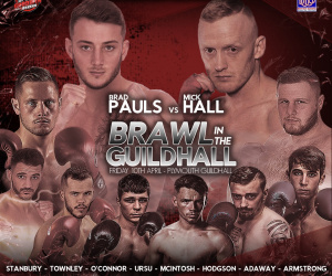 Brad Pauls vs Mick Hall