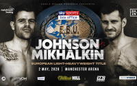 Callum Johnson expects a very hard fight with Igor Mikhalkin for the vacant European Light-Heavyweight Title