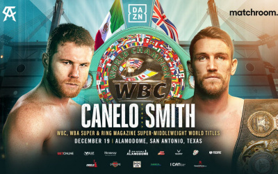 WBC World Super-Middleweight title on the line when Canelo Alvarez and Callum Smith clash on December 19 who wins live stream tickets free links predictions who wins and why