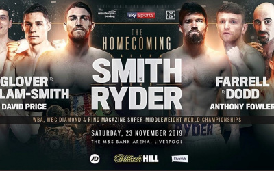 Callum Smith vs John Ryder LIVE RESULTS report who won KO live feed tv how to watch stream