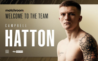 Campbell Hatton signs with Matchroom Boxing - pro debut scheduled for February 2021 ricky amateur career trainer coach trained by record what weight super featherweight watch is he good matthew