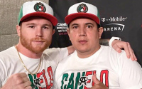 Eddy Reynoso acknowledges Canelo's fight with Billy Joe Saunders is going to be tough trainer mark tibbs mtk global texas who wins and why predictions preview