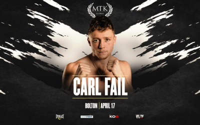 Carl Fail ben twin brothers global gym trainer returns on April 17 MTK Fight Night opponent boxrec amateur career pro record