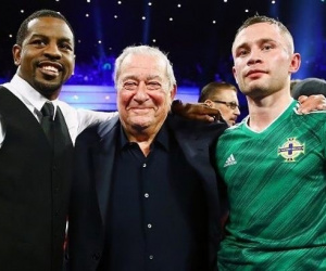 Bob Arum hopeful to make Jamel Herring vs Carl Frampton happen from October