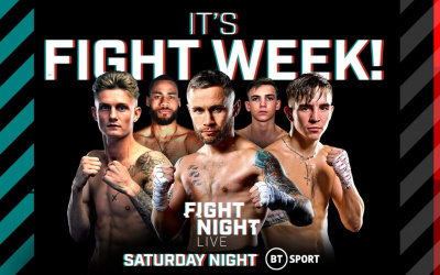 Dennis McCann faces Brett 'The Threat' Fidoe in next fight bantamweight what time start where to watch live stream details who is brett fidoe amateur record pro frank warren where from