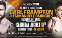 Carl Frampton vs Emmanuel Dominguez fight time, date, TV channel, undercard, schedule, venue, betting odds and live stream details