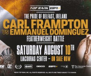 Carl Frampton vs Emmanuel Dominguez fight time, date, TV