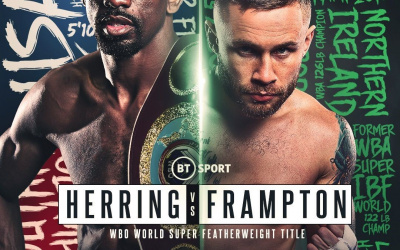 Predictions for Carl Frampton vs Jamel Herring wbo super-featherweight world title fight first northern irishman to win three weight world titles divisions champion triple best irish boxers in history preview odds bet who wins and why