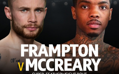 Who is Carl Frampton's next opponent Tyler McCreary? things you didnt know about Tyler McCreary