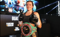 Chantelle Cameron makes the first defence of her WBC super-lightweight title Melissa Hernandez betting odds oddschecker best bets who wins predictions preview jj metcalf mtk global sky sports march 20
