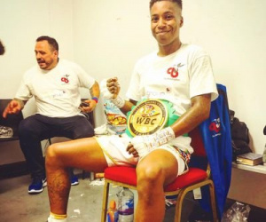 Unbeaten Cherrelle Brown lands European title shot  belgium fight time date tv channel schedule betting odds oddschecker ebu female super-lightweight islington amateur ro career record boxrec