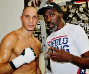Chris Evangelou pays tribute to Roger Mayweather