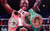 Claressa Shields Savannah Marshall Anahi Ester Sanchez Chantelle Cameron York Hall