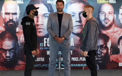 Conor Benn vs Sebastian Formella press conference quotes eddie hearn WBA Continental Welterweight Title fight time date tv schedule undercard when where why who what