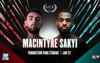 Craig MacIntyre expecting tough fight with Mikey Sakyi #MTKFightNight january 22 2021 next year time date tv channel undercard preview predictions super-lightweights ifl tv espn number no. live stream youtube
