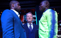 Daniel Dubois vs Ebenezer Tetteh weights and running order