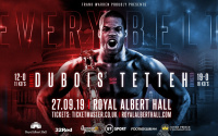 Daniel Dubois vs Ebenezer Tetteh fight time, date, TV channel, undercard, schedule, venue, betting odds and live stream details