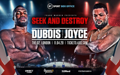 Daniel Dubois vs Joe Joyce fight time, date, TV channel, undercard, schedule, venue, betting odds and live stream details