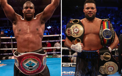 Joe Joyce vs Daniel Dubois