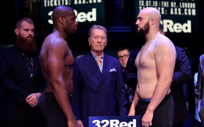 Daniel Dubois vs Nathan Gorman weights and running order
